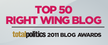 Top 50 Right Wing Blog - Total Politics Blog Awards 2011